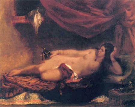 Eugene Delacroix - Odaliske II