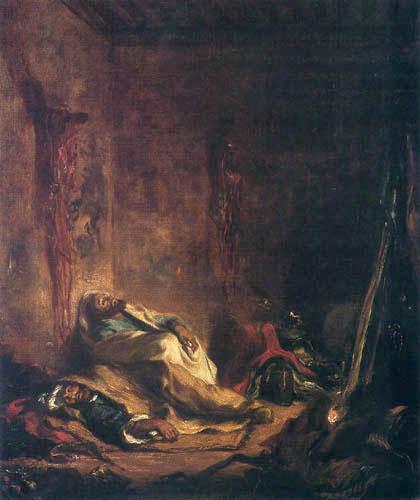 Eugene Delacroix - Wache in Meknès
