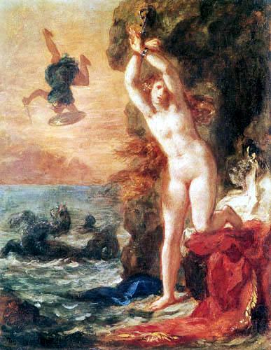 Eugene Delacroix - Perseus und Andromeda