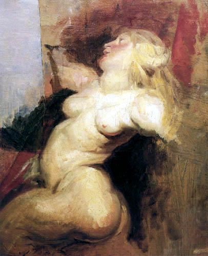 Eugene Delacroix - Néréide