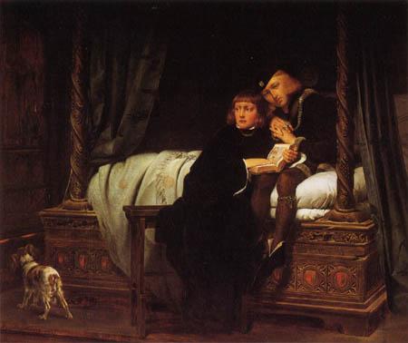 Paul Delaroche - The sons by Edward IV
