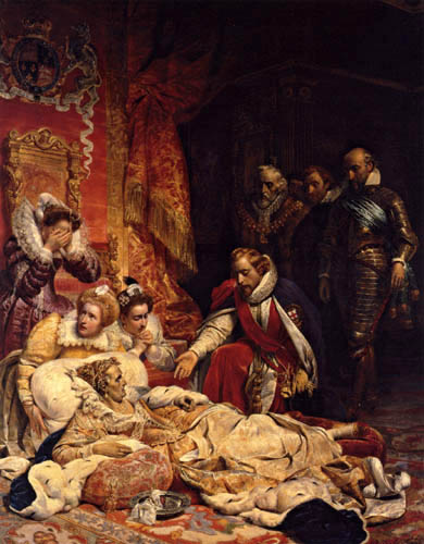 Paul Delaroche - The Death of Queen Elisabeth