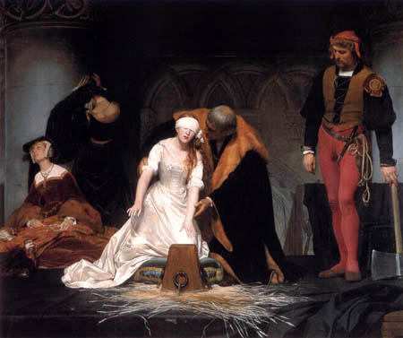 Paul Delaroche - The execution of Jane Grey