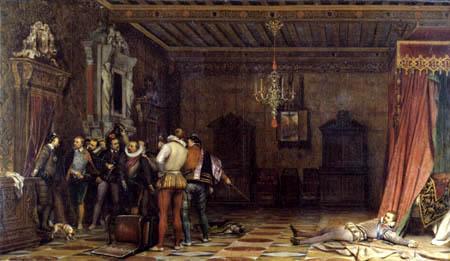 Paul Delaroche - El asesinato de el duque de Guise