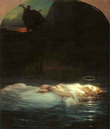 Paul Delaroche - The young martyr