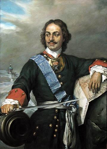 Paul Delaroche - Zar Pedro el Grande de Rusia
