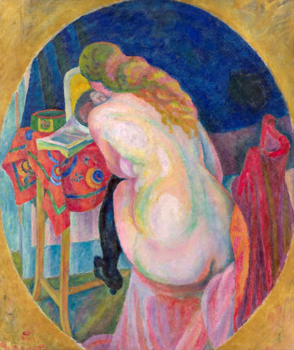 Robert Delaunay - Nude Woman Reading