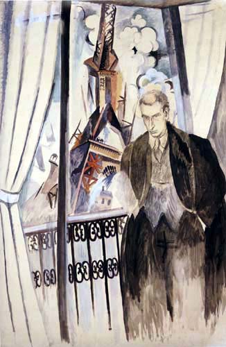 Robert Delaunay - Portrait de Phille Soupault