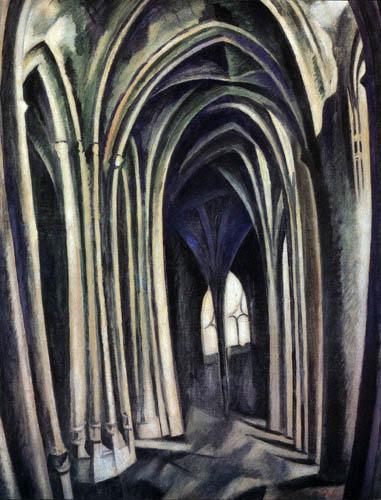 Robert Delaunay - Saint-Séverin 3
