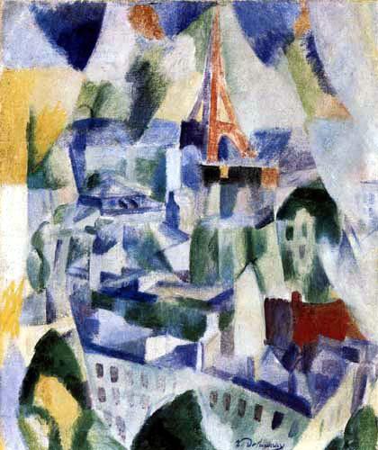 Robert Delaunay - La fenêtre sur la ville