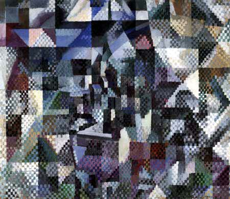 Robert Delaunay - The Window to the Town 3