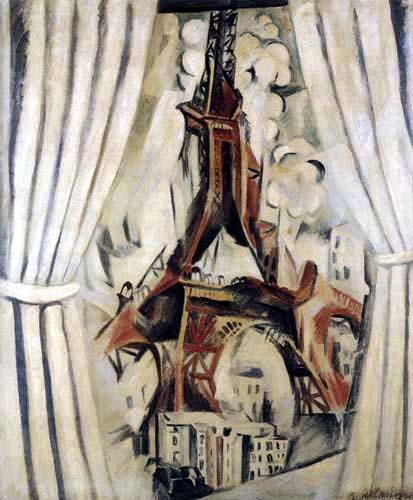 Robert Delaunay - La Tour aux rideaux