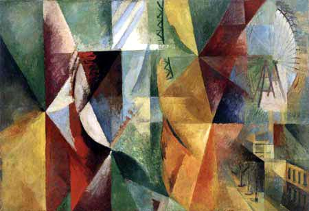 Robert Delaunay - Les trois fenêtres, la tour et la roue