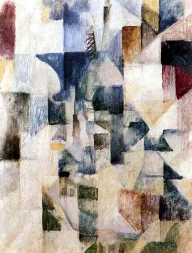 Robert Delaunay - Les fenêtres de la ville, 1. partie, 2. Motive