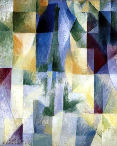 Robert Delaunay - Les fenêtres sur la ville 3