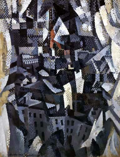 Robert Delaunay - La Ville