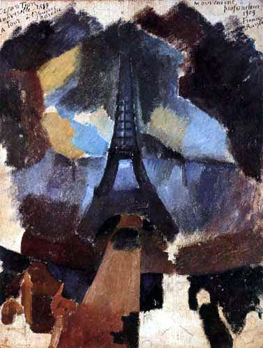 Robert Delaunay - Tour, Première Étude