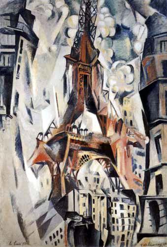 Robert Delaunay - Eiffel Tower