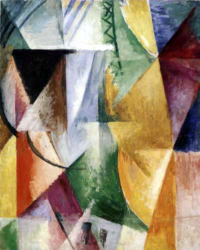 Robert Delaunay - A Window, Study