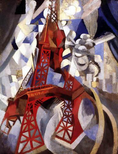 Robert Delaunay - La Tour rouge