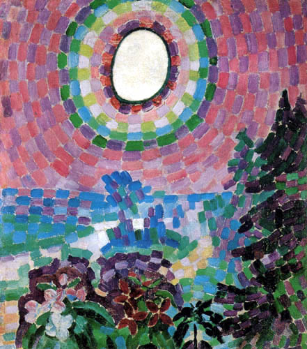 Robert Delaunay - Landscape with Disc