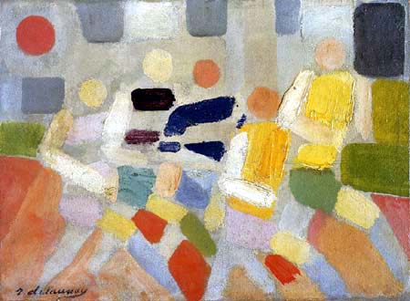 Robert Delaunay - Les coureurs