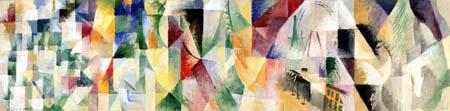 Robert Delaunay - Les fenêtres sur la ville
