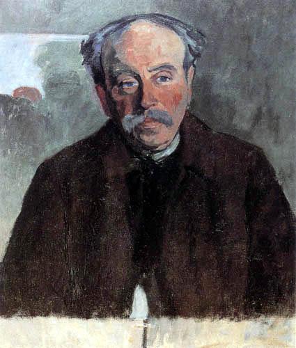 Robert Delaunay - Portrait de l´douanier Rousseau