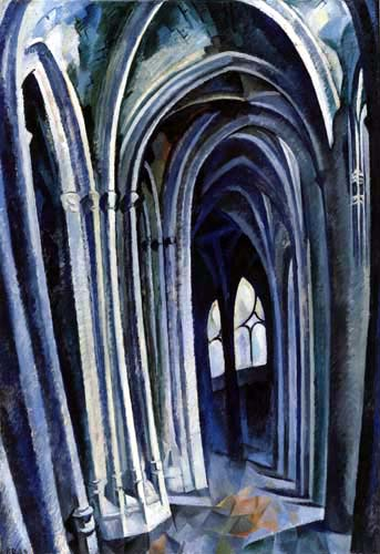 Robert Delaunay - Saint-Séverin 1