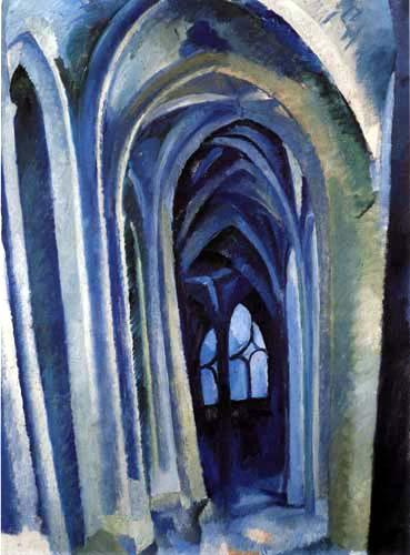 Robert Delaunay - Saint-Séverin 2