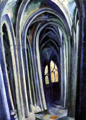Robert Delaunay - Saint-Séverin 4