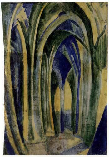 Robert Delaunay - Saint-Séverin 6