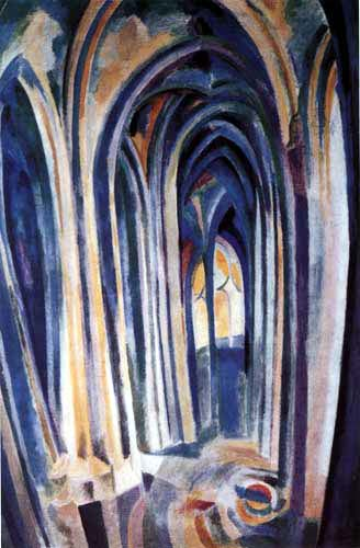 Robert Delaunay - Saint-Séverin 7