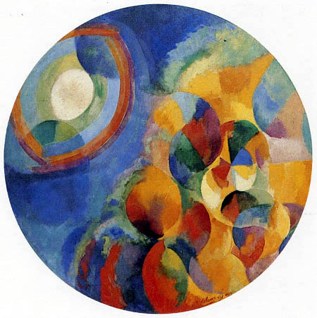 Robert Delaunay - Sun and Moon