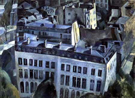 Robert Delaunay - Ville, Première Étude