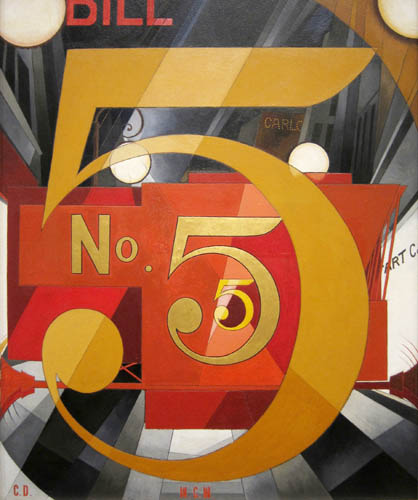 Charles Demuth - The Figure 5 in Gold