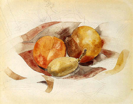 Charles Demuth - Peaches and fig