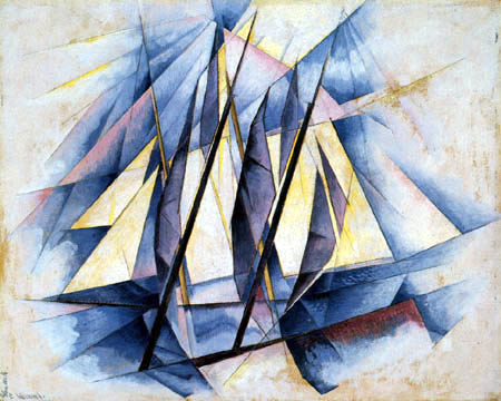 Charles Demuth - Sail in two movements