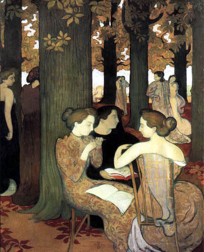Maurice Denis - The Muses