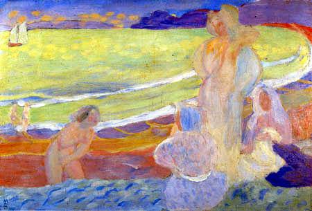 Maurice Denis - Women on the Beach