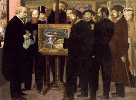 Maurice Denis - Hommage auf Cezanne