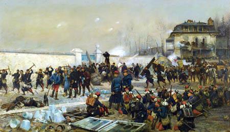 Jean-Baptiste-Édouard Detaille - Champigny, December 1870