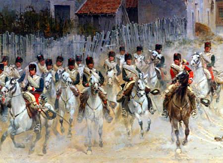 Jean-Baptiste-Édouard Detaille - Chasseurs de la garde