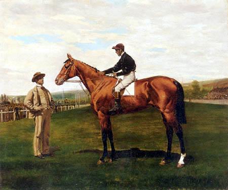Jean-Baptiste-Édouard Detaille - Glaneuse on a Racecourse