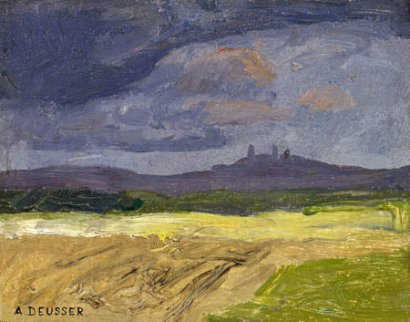August Deusser - Thunderstorm Landscape