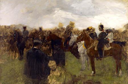 August Deusser - Manöver