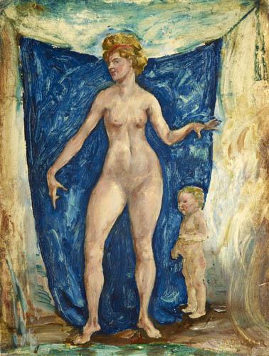 August Deusser - Nude