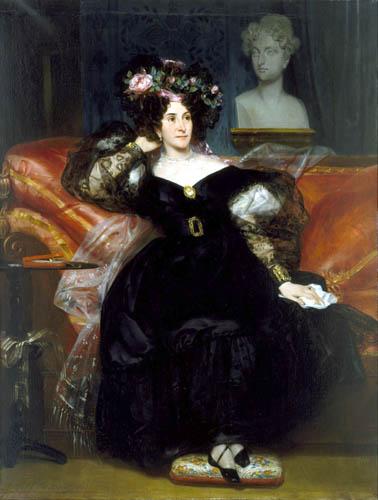 Eugène Devéria - Mme. Jule-Antoine Droz
