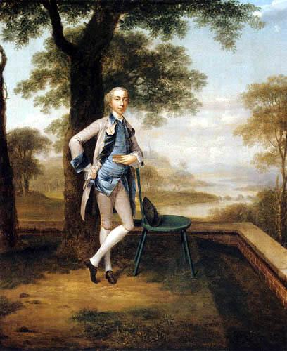 Arthur Devis - Portrait of a man