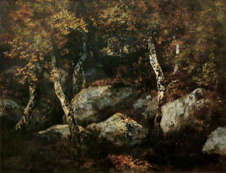 Narcisse Diaz de la Peña - Im Wald von Fontainebleau